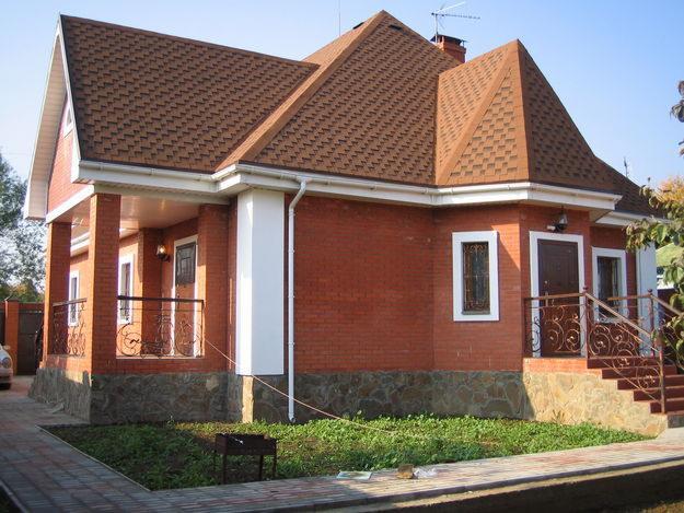 Фото - Собственный загородный дом из кирпича