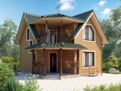 Фото - Дом из дерева — когда лучше возводить?
