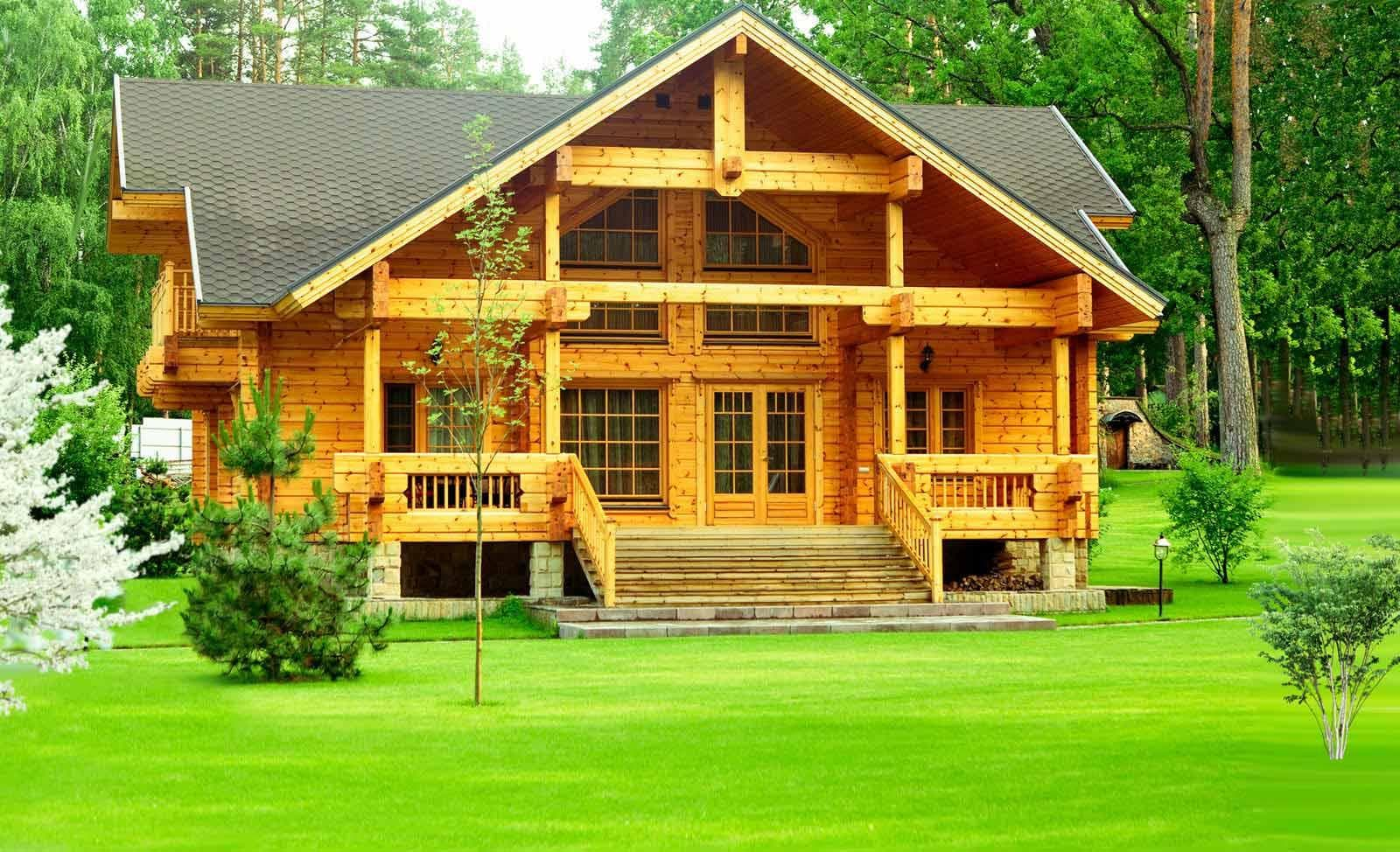 Фото - Дома из деревянного бруса